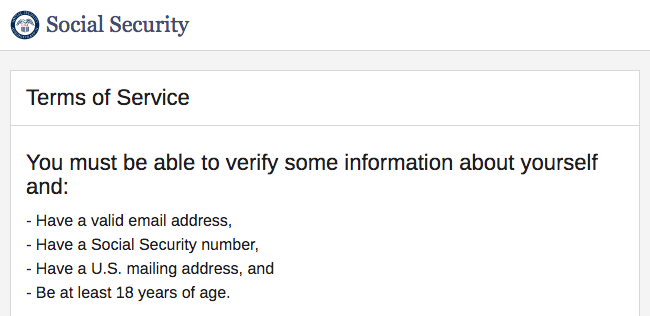 Social security email address